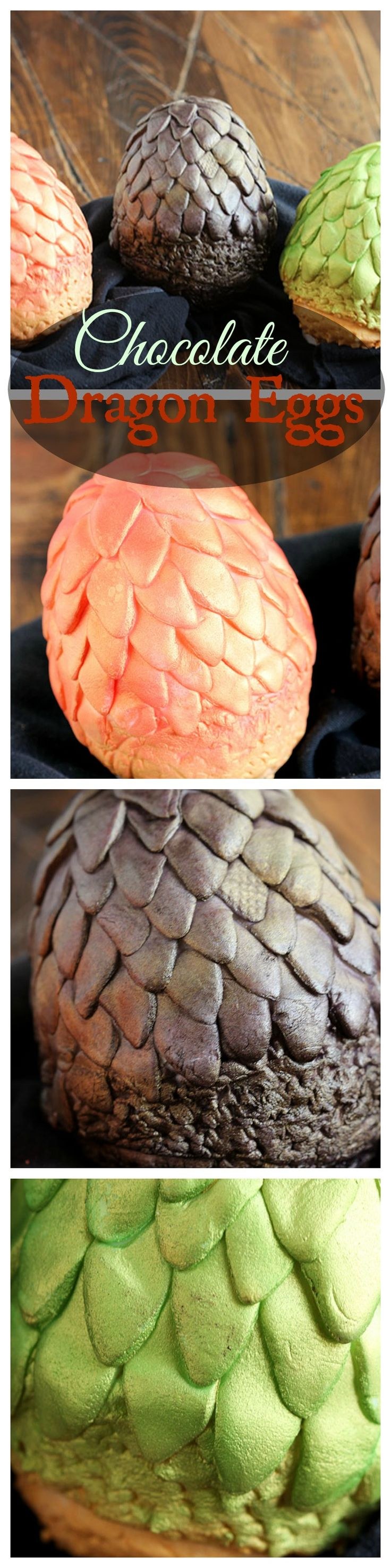 The perfect addition to any Game of Thrones party, these chocolate Dragon Eggs are easy to make.  | The Suburban Soapbox