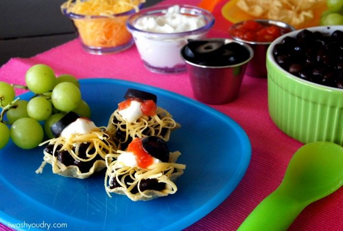 Not just for kids, mini taco bites! Perfect for a summer snack or a picnic!!