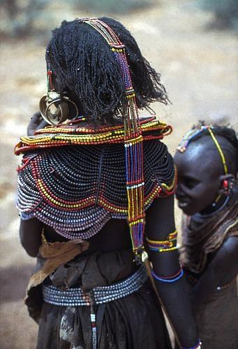 Africa | Pokot girls, Kenya. | ©Herbert Cole, 1973