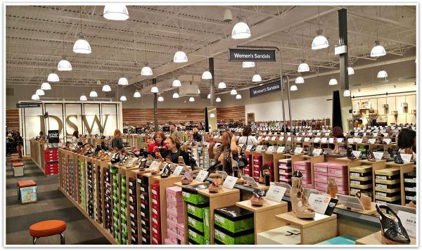 Designer Shoe Warehouse Now Open In