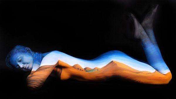 55+ Beautiful Body Paintings | Cuded