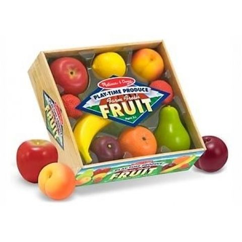 M & D Melissa and Doug Play Time Farm Fresh Fruit Set  Available at Kids Mega Mart Shop Australia