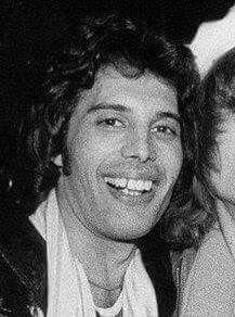 Such a wonderful face on an equally wonderful man. Freddie Mercury