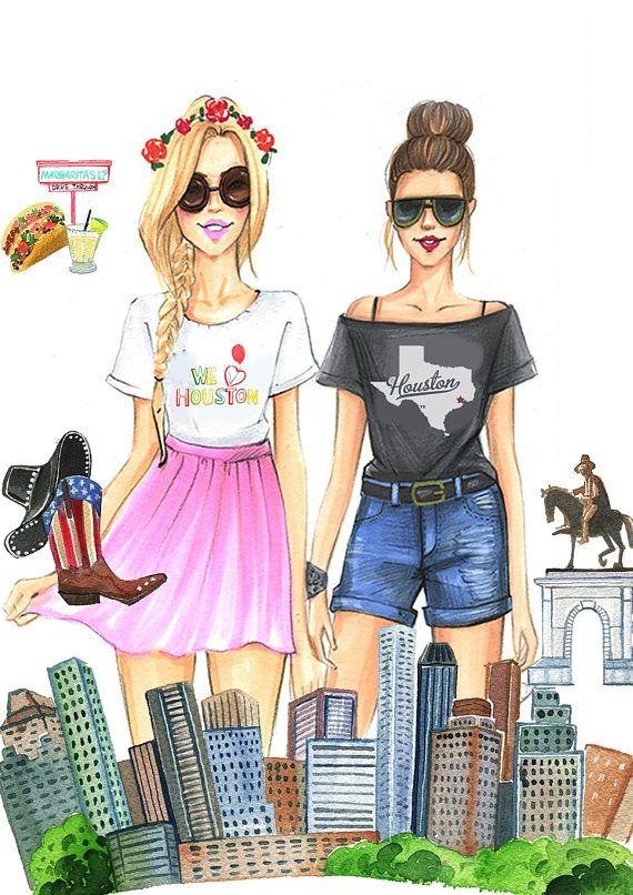 Besten Fashion Illustrations By Rongrong Devoe Bilder Auf