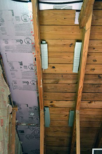 How to use foam board to insulate attic