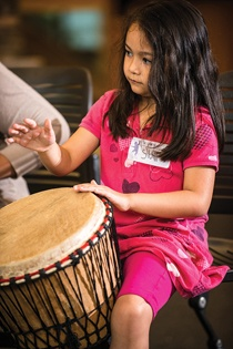 Junior Jammin':A class that teaches  Djembe Drumming and Drama
