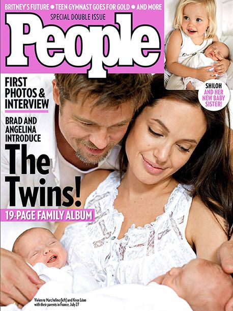 Born in Nice, Vivienne Marcheline and Knox Léon made their public debut on the cover of People