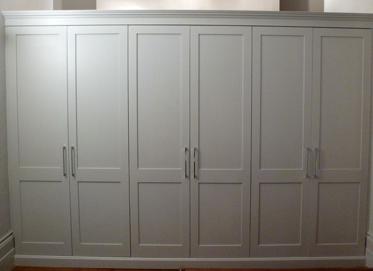 Four door shaker cabinet google search doors bedroom - Bedroom cabinets with sliding doors ...