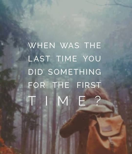 When was the last time you did something for the first time? Wander the world with me! www.wanderingstephanie.com