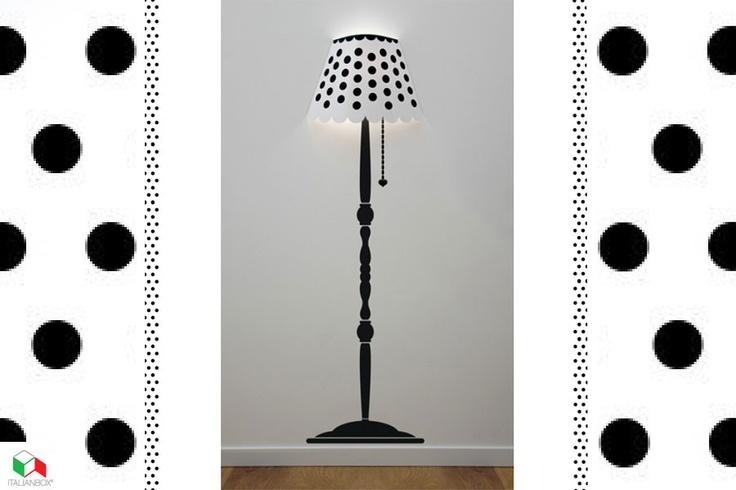 MADAME JOUR wall sticker, lamp   Table & Desk Lamps   Italian Box