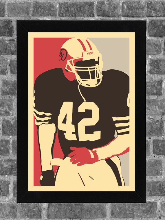 Hey, I found this really awesome Etsy listing at https://www.etsy.com/listing/190167452/san-francisco-49ers-ronnie-lott-portrait