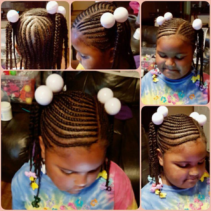 Kids hairstyles, school hairstyles, little black girls hairstyles, black girls rock, braids for little girls, kiddie hairstyles