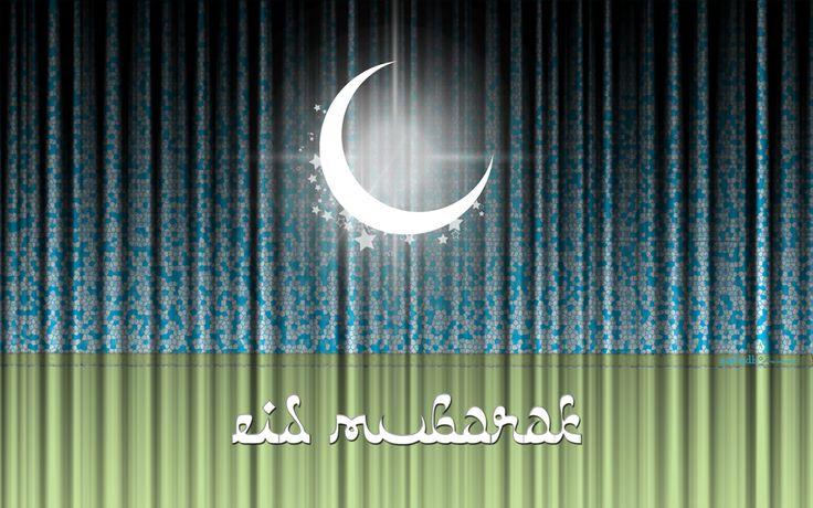 Moon Shines with Eid Wishes: Ramadan Greeting, Moon Shinee, Eid Mubarak, Eid Cards