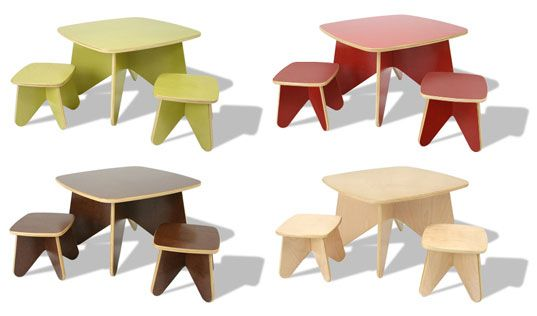 Ecotots Flatpak Green Furniture for Kids | Inhabitat - Sustainable Design Innovation, Eco Architecture, Green Building