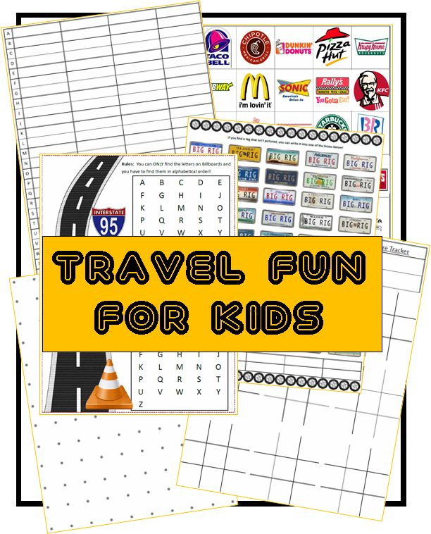 With Summer coming, many of us are planning to go places with the kids. That means many hours in a car, right? These fun FREE road trip games for kids will