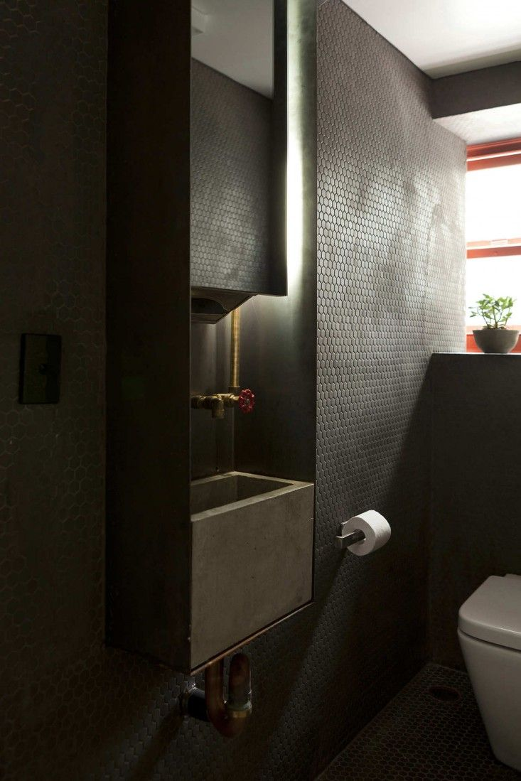 Bathroom lights bathroom wall lights artemis 900 rounded led strip - Super Whatnot An Urban Hotspot That S An Extension Of The Street Bathroom