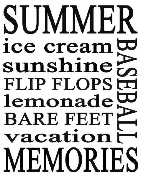 Summer: Art Printable, Summer Fashion, Beaches Parties Printable, Summer Subway Art, Summer Fun, Summer Printable, Free Printable, Summertime, Summer Time
