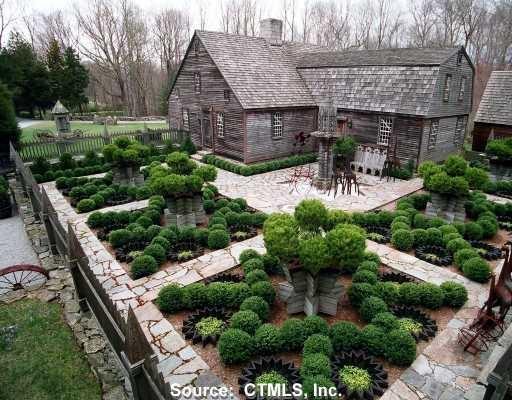 Garden Design New England 32 best boxwood gardens images on pinterest | boxwood garden