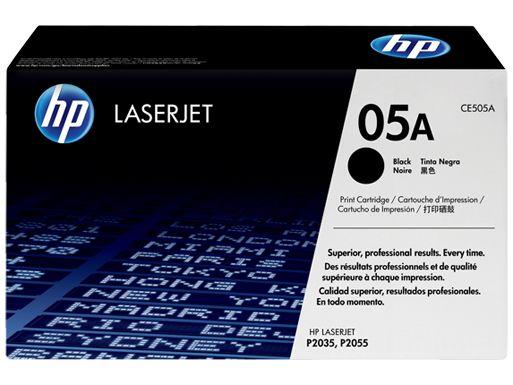 HP LaserJet 05A (CE505A) Black Toner HP LaserJet P2035 P2035n P2055d P2055dn HP LaserJet 05A Black CE505A HP LaserJet 05A Original Toner Black LaserJet 05A.
