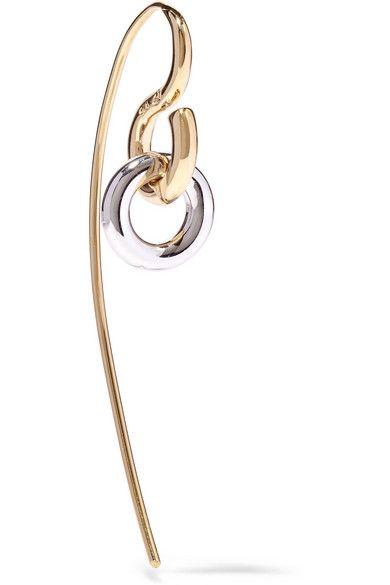 Hook fastening for pierced ears Made in France 'Charlotte Chesnais'