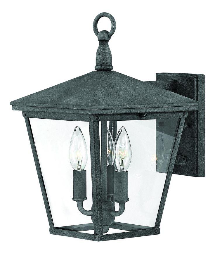 Hinkley lighting 1429 trellis 3 light outdoor wall light