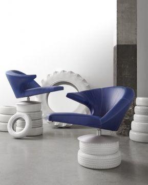 Woonstijl Modern & Design | Draaifauteuil Parabolica | Leolux | #Eijerkamp #wooninspiratie #woontrends