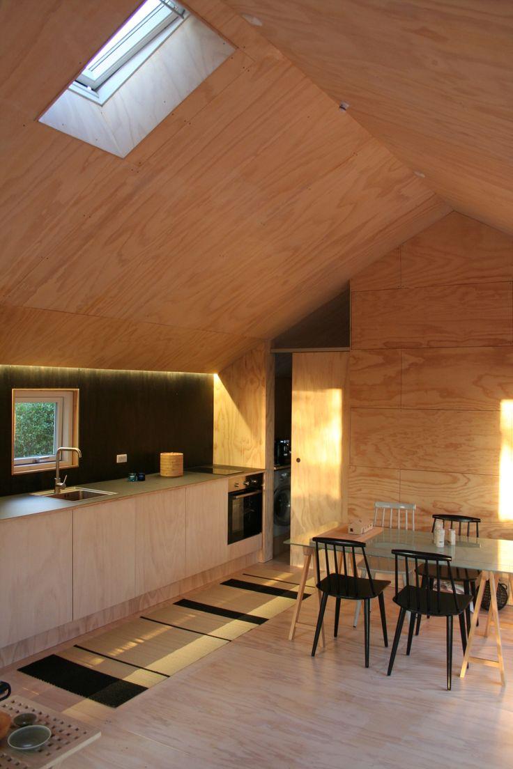 Small house, interior, Architect Kristian Olesen