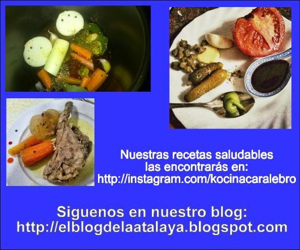 Quieres seguir nuestras ideas de cocina saludable?
