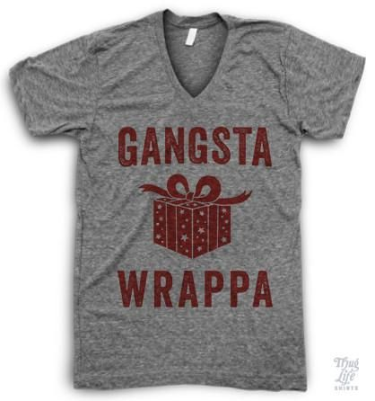 I'm a gangsta wrappa!