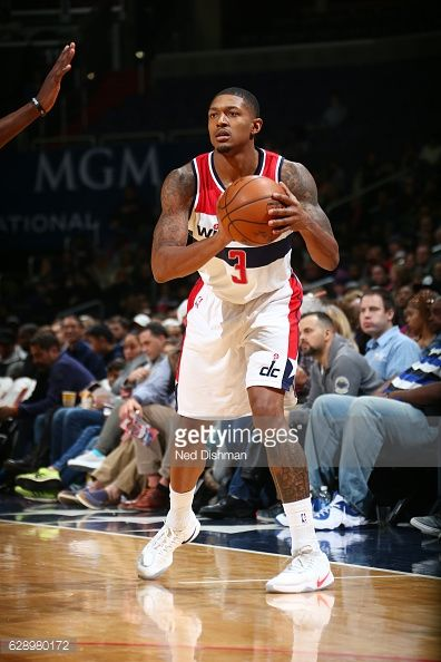 News Photo : Bradley Beal of the Washington Wizards handles...