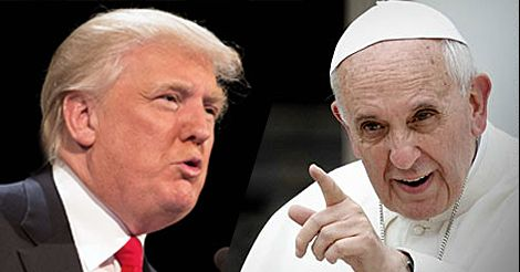 Pope Francis Attacks Donald Trump as 'Not Christian' for Border Wall Plan; Trump Responds