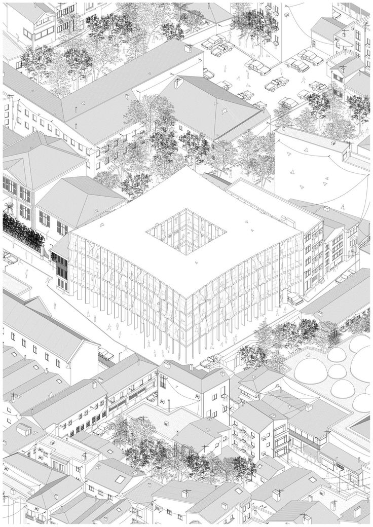 how to draw an axonometric from a plan