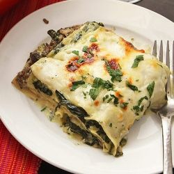 Kick-butt Mushroom and Spinach Lasagna - will beat out any meaty lasagna around.  Guaranteed!!!!!