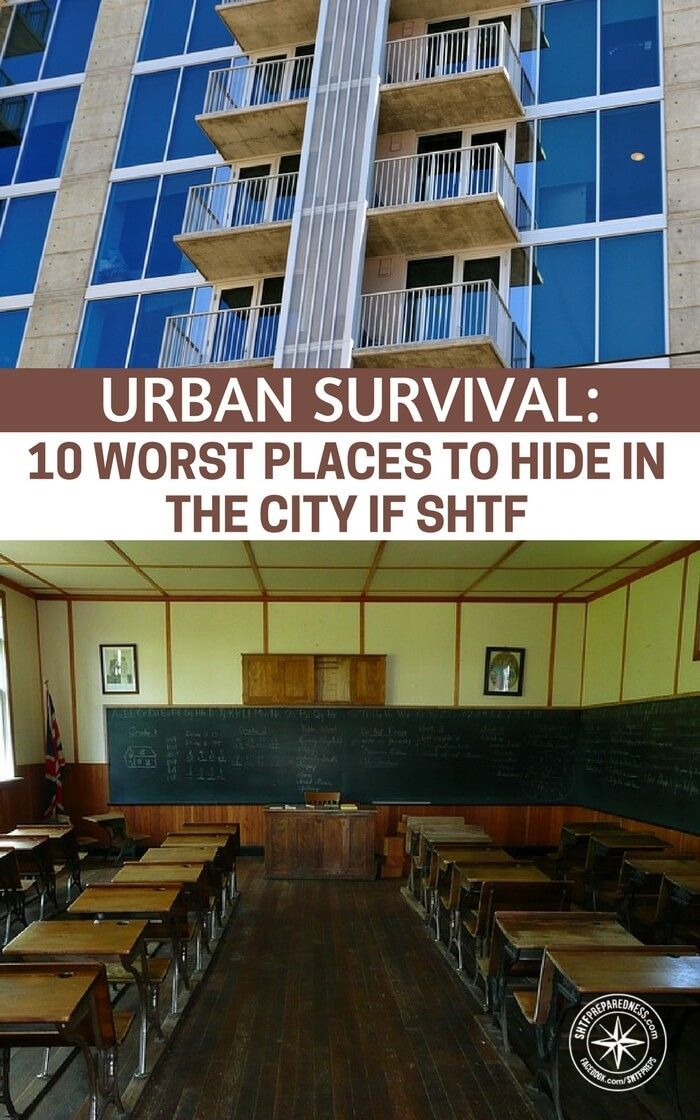 Urban Survival: 10 Worst Places To Hide In The City If SHTF - Still, there are better places to be in the city during a collapse than others. You will find that this article has isolated the worst place to be in the city if the SHTF. If you plan on sticking around your suburb or city following a collapse this information is critical. #urbansurvival #survival #shtf #prepping #preparedness #prepper
