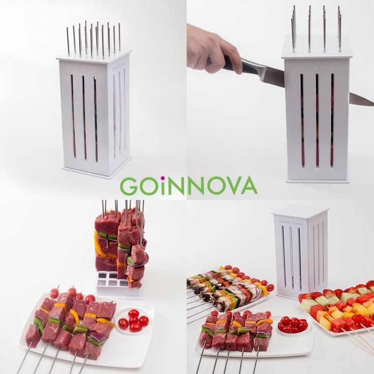 its grilling time never hassle with making skewers again goinnova - Kuechengeraet Pakete