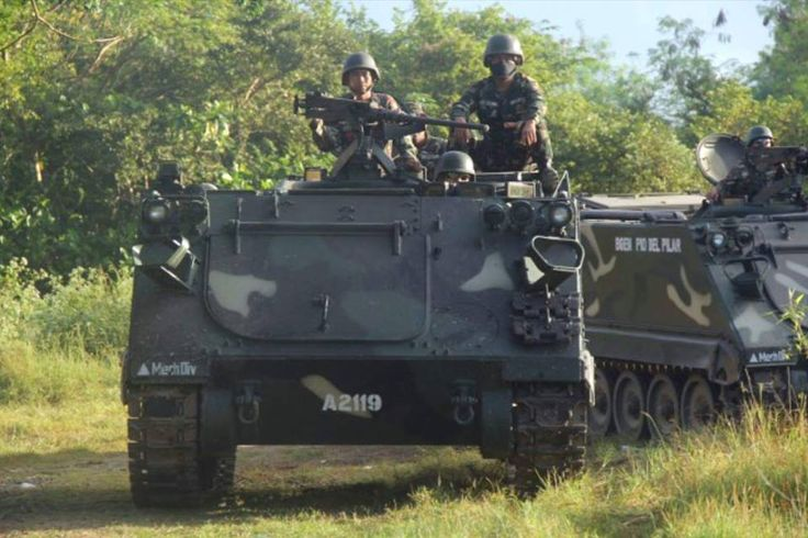 Philippine Army 3rd mechanized company.
