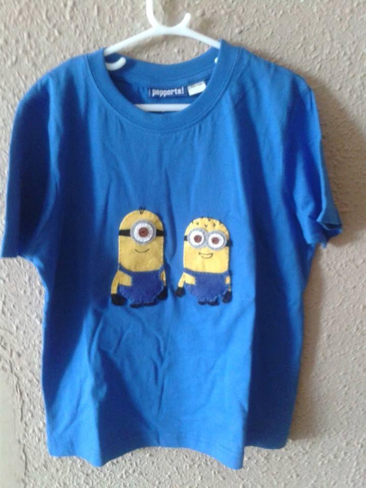 Camiseta Minions: Camiseta Minions,  T-Shirt, Camiseta Fieltreada