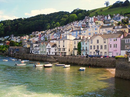 Dartmouth, Devon. The houses here are beautiful. Such a pretty place.