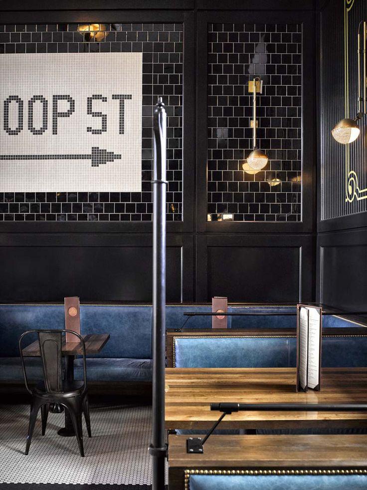 Restaurant Design | banquette seating | Avroko restores Denver Union Station