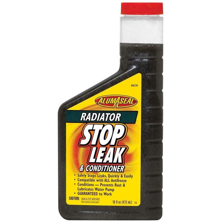 Alumaseal ASLC16 16 Oz Radiator Stop Leak & Conditioner (Car care/cleaning), Grey metal