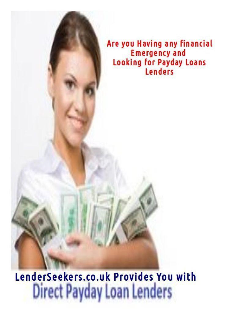 Direct Payday Loan Lenders No Brokers Loan Lenders Loans For Bad Credit Payday Lenders