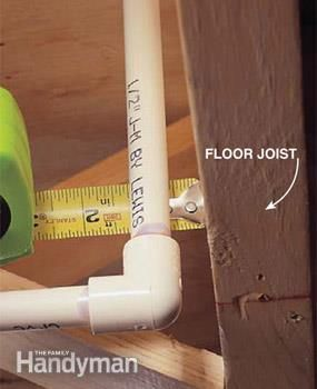 How to Use CPVC Plastic Plumbing Pipe