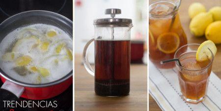 Cómo hacer té helado al estilo sureño