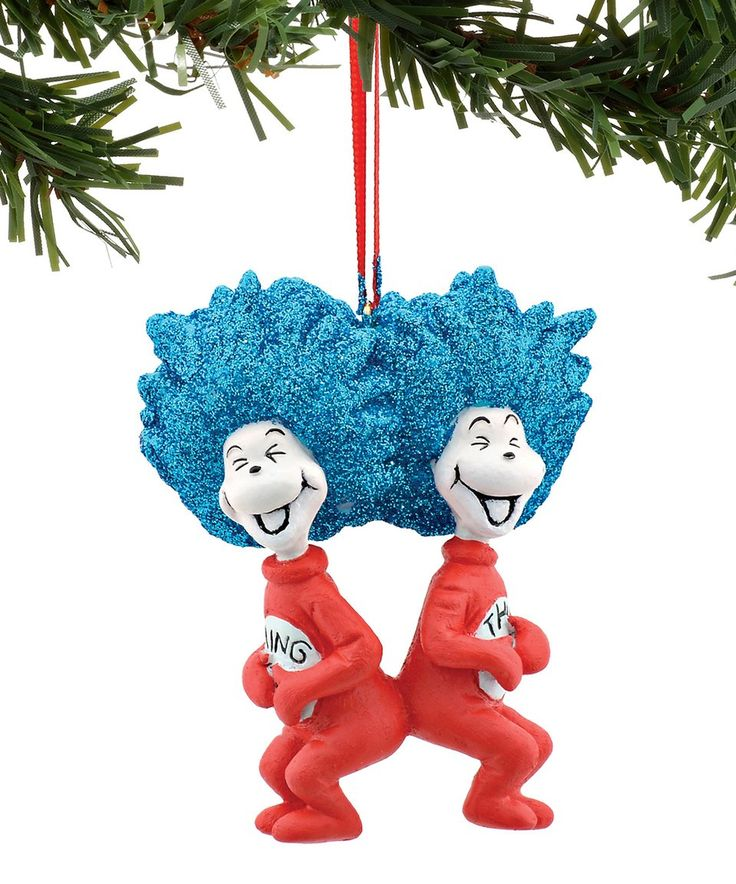 Take a look at this Thing 1 & 2 Laughing Ornament today!