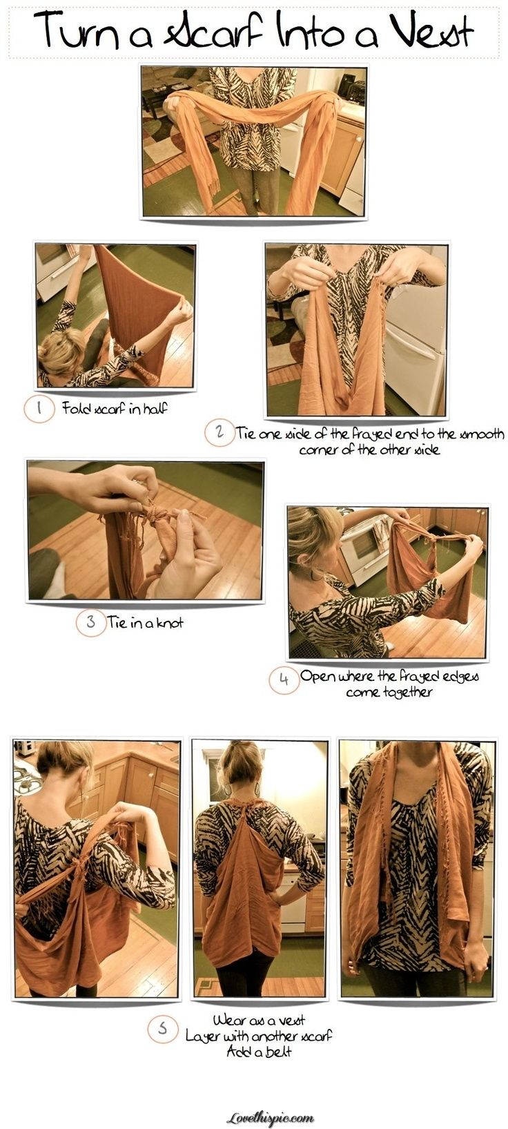 Turn A Scary Into A Vest Pictures, Photos, and Images for Facebook, Tumblr, Pinterest, and Twitter