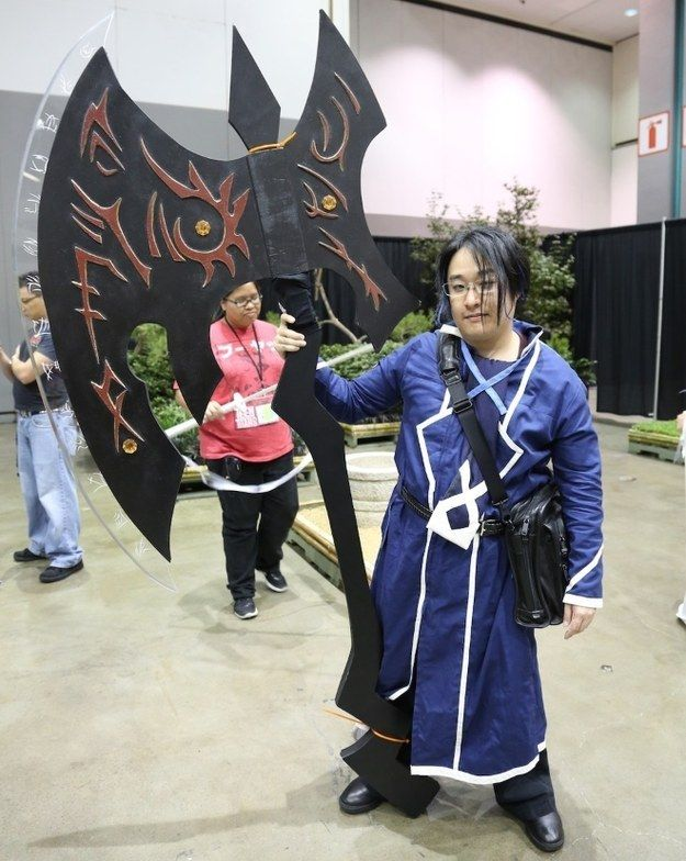 The 31 Most Badass Weapons At Anime Expo