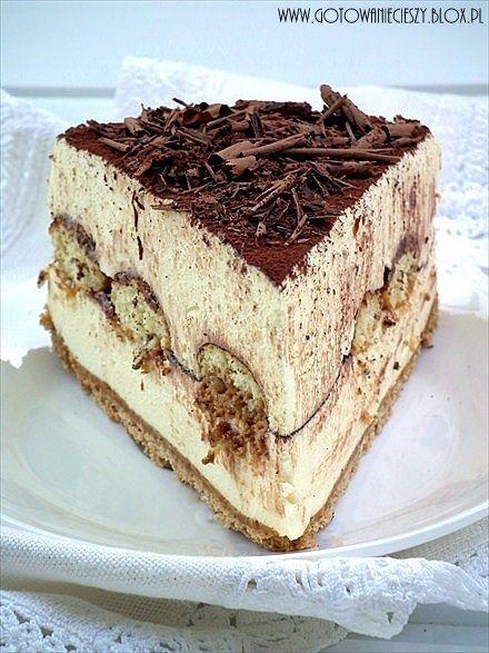Tiramisu cheesecake... this looks amazing!