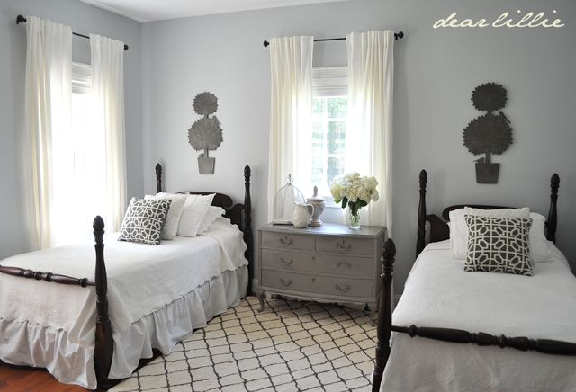 My Parent's Guest Bedroom by Dear Lillie