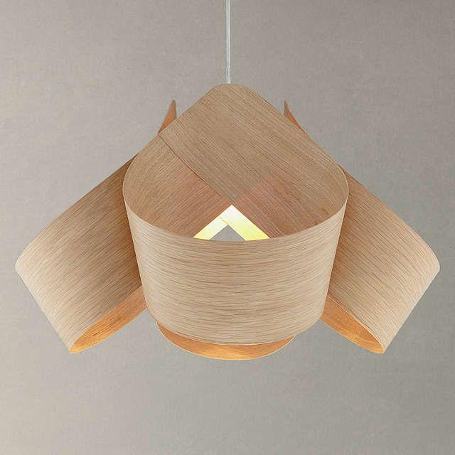 BuyTom Raffield Spinnaker Pendant Ceiling Light, Oak Online at johnlewis.com