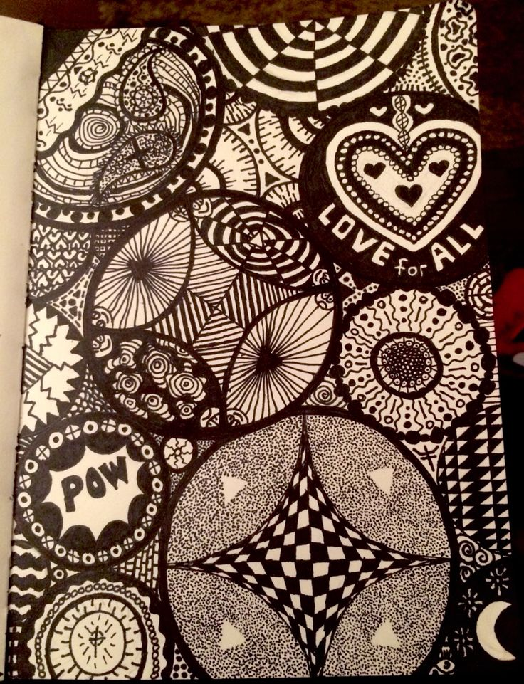 My new doodle had fun creating this one
